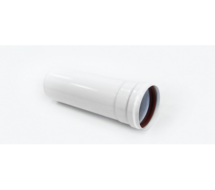 Удлинитель трубы Ø80*250mm, White