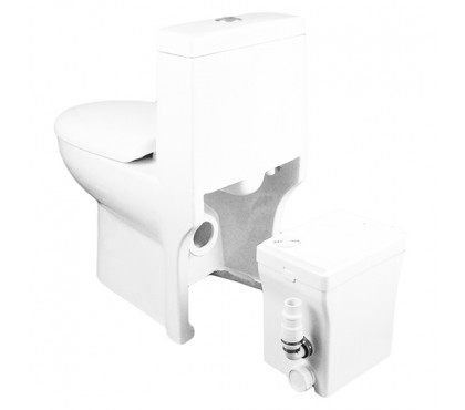Туалетный насос измельчитель JEMIX со встроенный в унитаз STF-500 LUX