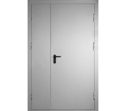 Противопожарные двери металлические 2100х1200