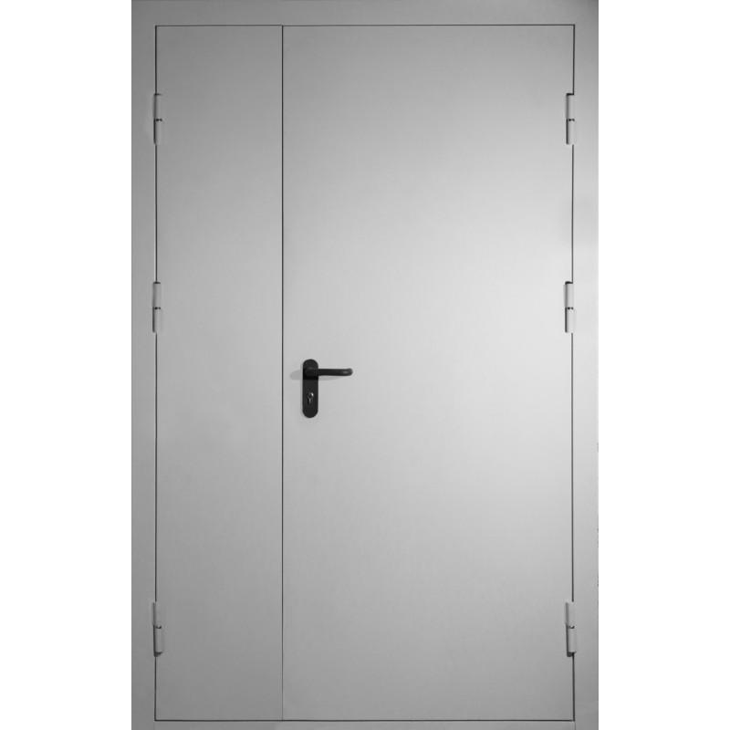 двери стальные двупольные 1200