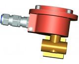 Электромагнитный клапан Ду12 с соленоидом с маркировкой взрывозащиты 1ExdIIBT4X с кабельным вводом