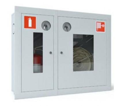 Пожарные шкафы ШПК-315В-ОТКРЫТЫЙ (Белый)