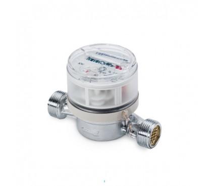 Водяной счетчик Zenner 40°C DN15 Qn1,5  L80mm 1/2
