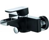 DA1433515 Каскадный смеситель для ванны черная эмаль + хром