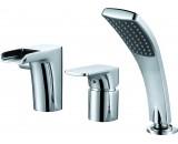 DA1434201 Врезной каскадный смеситель для ванны