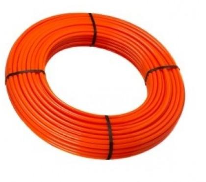 Сшитый полиэтилен теплый пол красный 20х2.0 SANEXT PEX-a бухта 100м