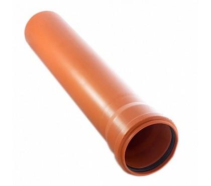 Труба наружная 110х3000 полипропиленовая Политэк 3,4мм